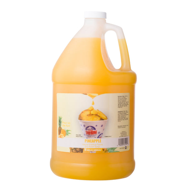 SNO-TREAT PINEAPPLE 4/1 gal