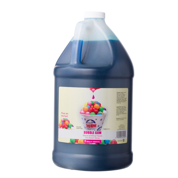 SNO-TREAT BUBBLE GUM 4/1 gal