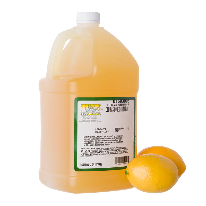THELMA'S ORIGINAL LEMONADE 4/1 gal
