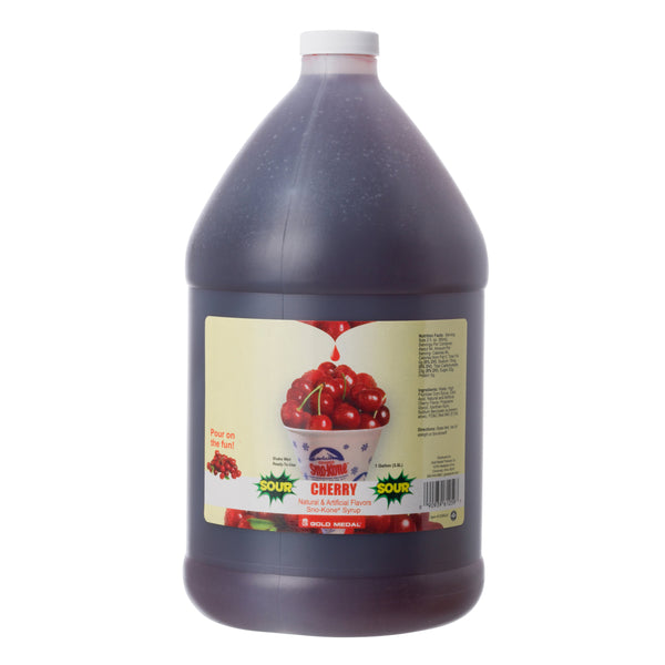 SNO-TREAT SOUR CHERRY 4/1 gal