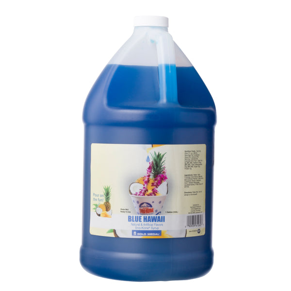SNO-TREAT BLUE HAWAII 4/1 gal