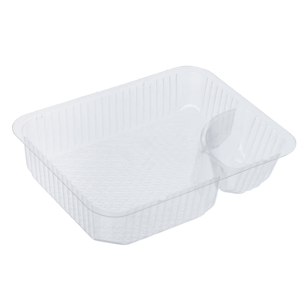 2 COMPARTMENT NACHO TRAY 2 oz 500/cs
