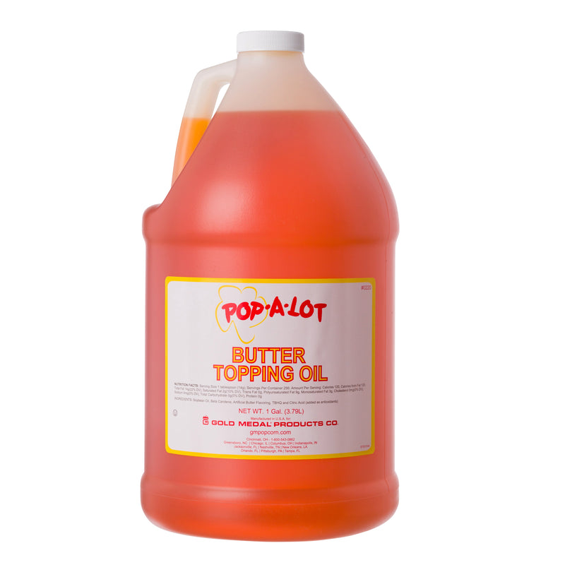 POP-A-LOT TOPPING OIL 4/1 GAL