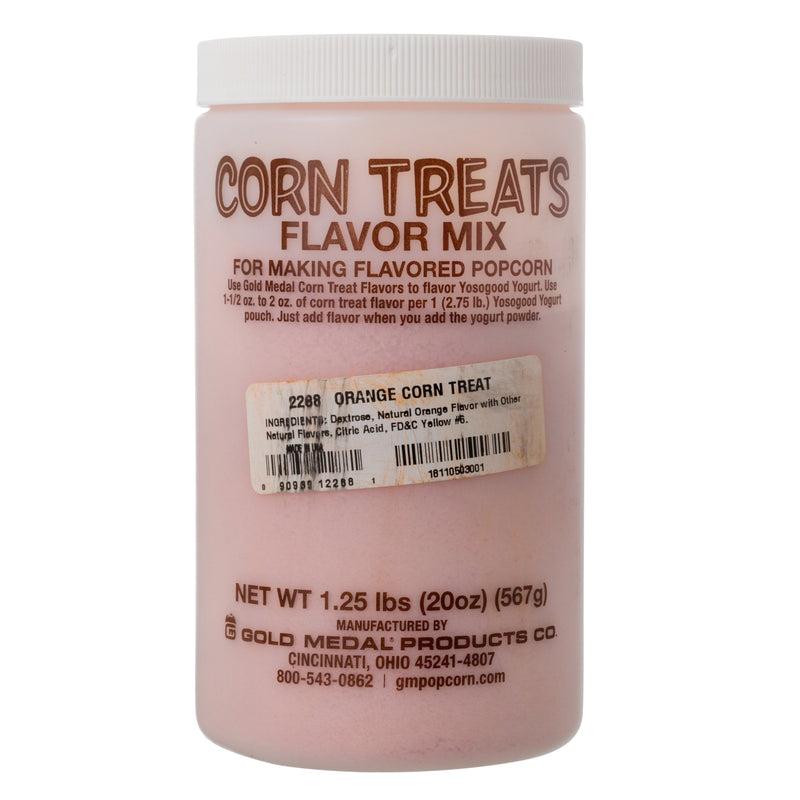 CORN TREAT MIX - ORANGE