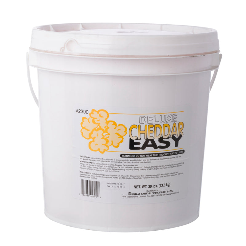 CHEDDAR EASY 30 lb TUB