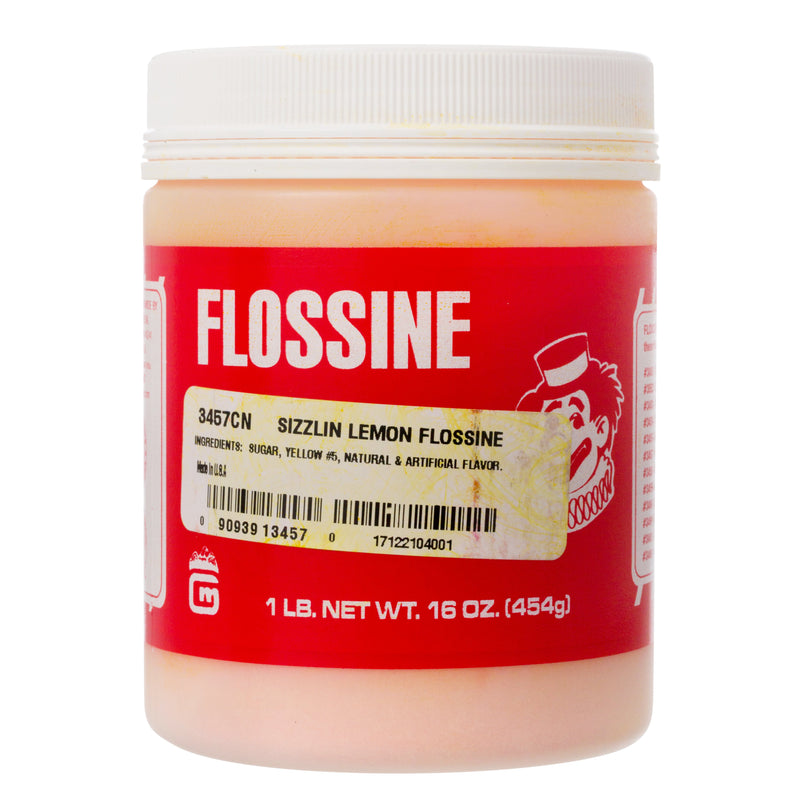 LEMON FLOSSINE 1 lb TIN