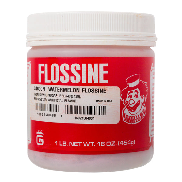 WATERMELON FLOSSINE 1 lb TIN