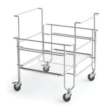 Cart For Gelato Coolbox Pans