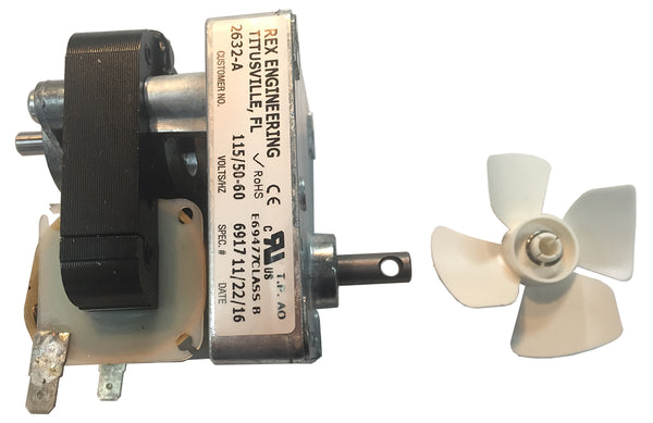 Agitator Motor For T2000/T3000 Poppers - Cretors