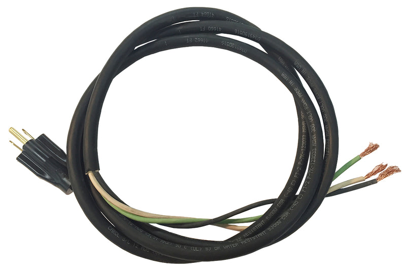 Cord Set 20 Amp 12-3 Nema 5-15p - Cretors