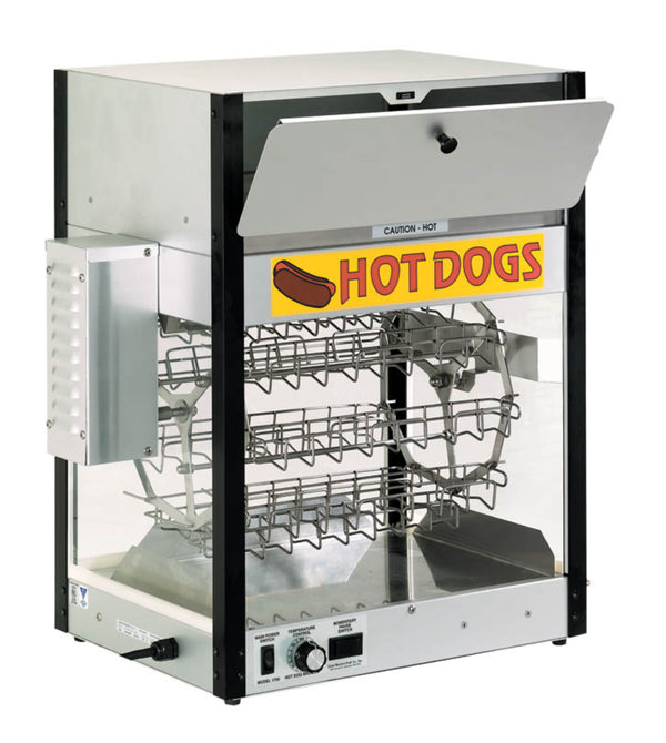 Cretors Combination Hot Dog Cooker And Bun Warmer