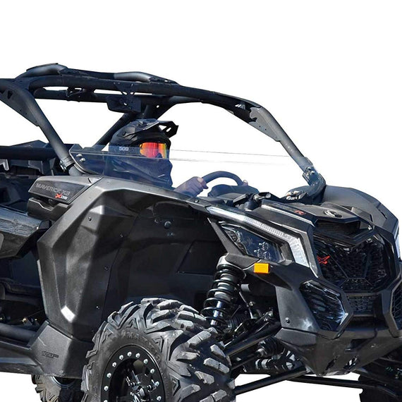 Can Am Maverick X3 Half Windshield