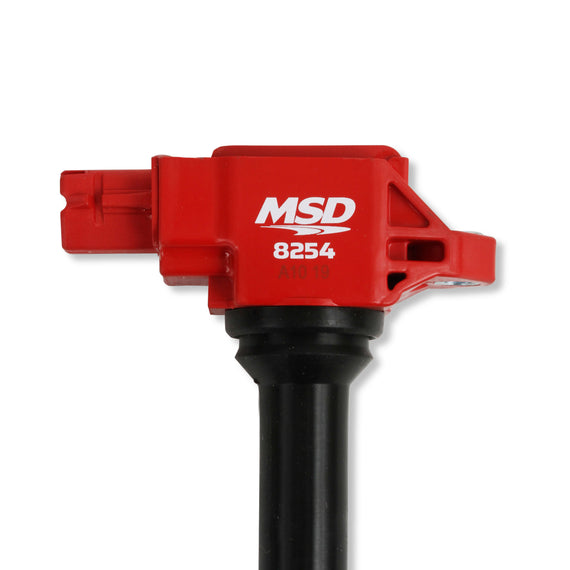 MSD IGNITION COIL BLASTER SERIES 2015-2019 SUBARU/TOYOTA/SCION 2.0L ENGINES, RED, INDIVIDUAL