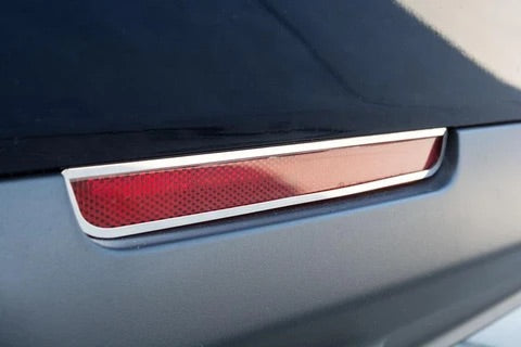 2015-2019 Dodge Challenger - Rear Marker Trim 2Pc | Polished Stainless Steel