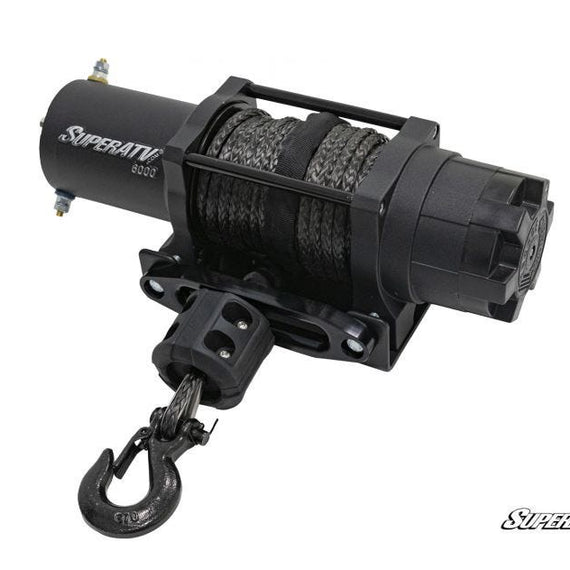 6000 Lb. Black Ops UTV/ATV Synthetic Rope Winch