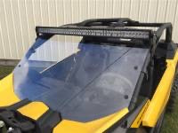"Can am x3 40"" light bar bracket"