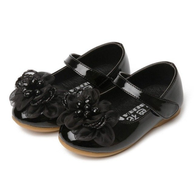 High End Kids Girls Children Leather Shoes Princess Sandals