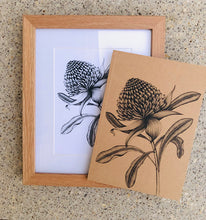 A5 Framed Print and Notebook Gift Pack