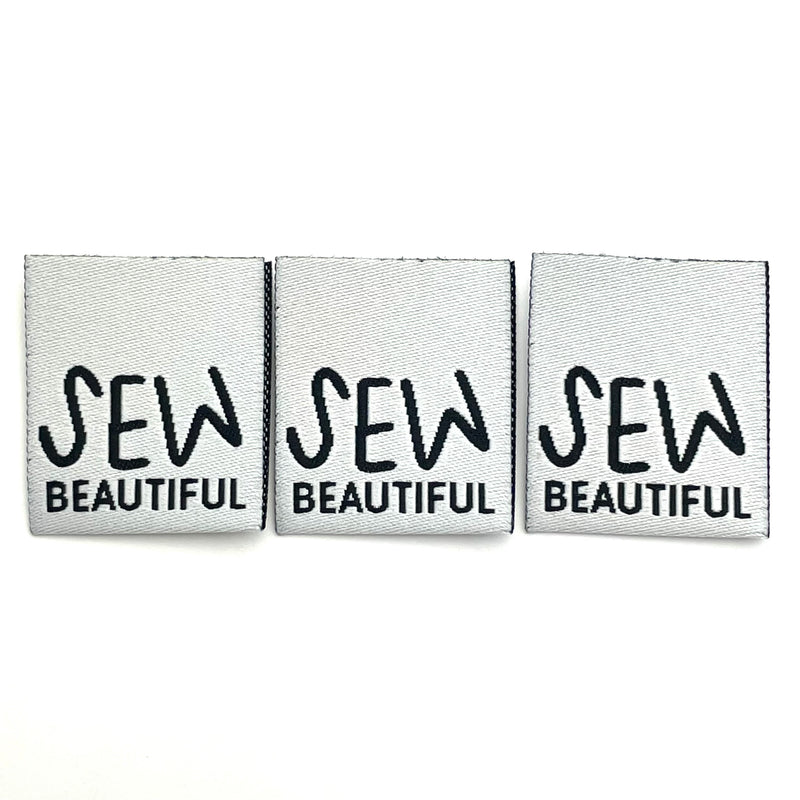 Weblabel SEW beautiful // 3 Stück
