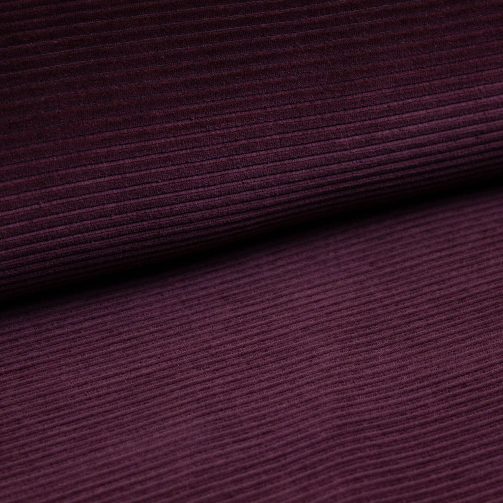 0,5 m Breitcordjersey bordeaux