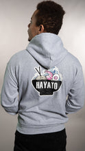 Load image into Gallery viewer, HAYATO - Big Wave Black Hoodie Unisex - HayatoClothing