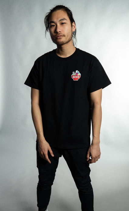 HAYATO - Small Wave Red Shirt Unisex - HayatoClothing