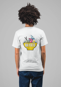 HAYATO - Big Wave Yellow Shirt Unisex - HayatoClothing