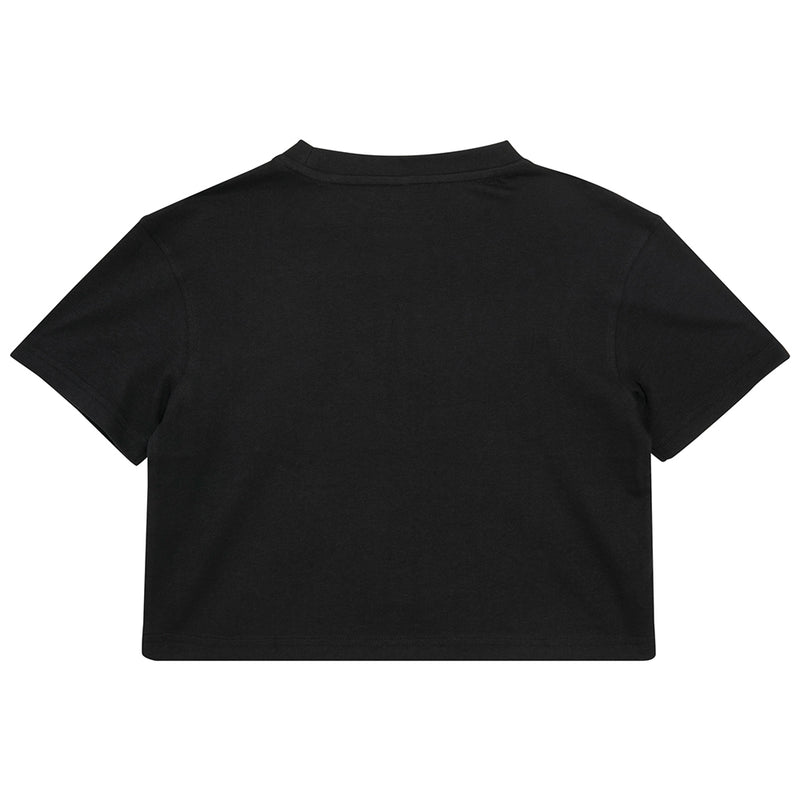Girls Cropped Jersey Tee