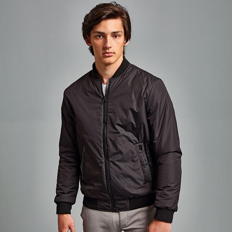 Delta Plain Bomber Jacket