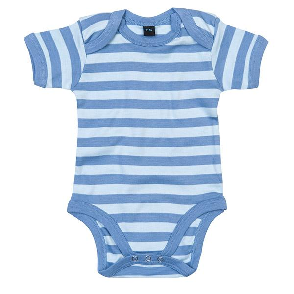Baby Striped Bodysuit