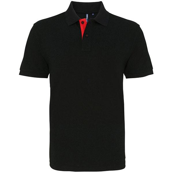 Contrast Men's Polo Shirt