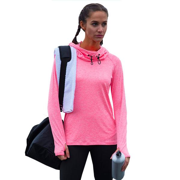 Women's Cowl Neck Sports Jumper