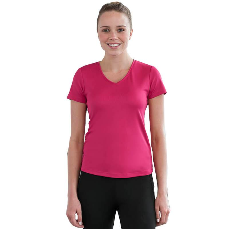 Women's Sports V Neck T Shirt
