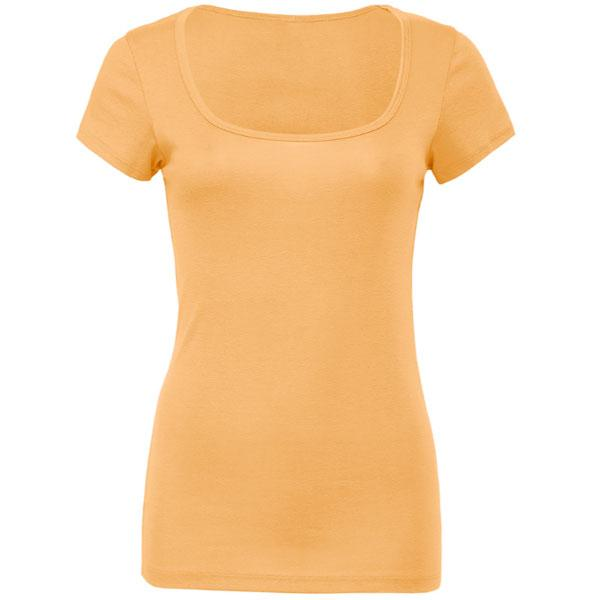 Women's Wide Neck T Shirt