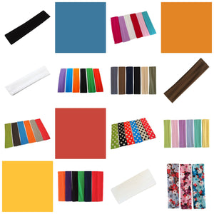 30% Off Wholesale Stretch Nylon Headbands!