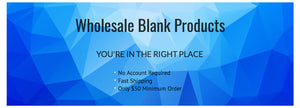 Wholesale Blank Products