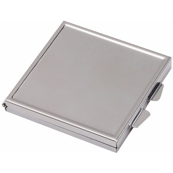 Wholesale Lot of 50 Blank Metal pact Cosmetic Mirror