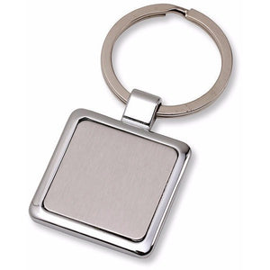 Wholesale Lot of 50 Blank Metal Key Chain Tags Square DIY