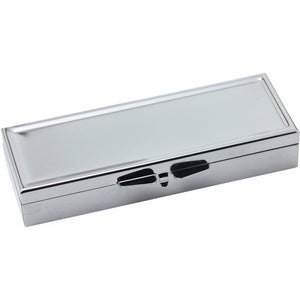 Wholesale 30 Blank Metal Pill Box Case Container Rectangle