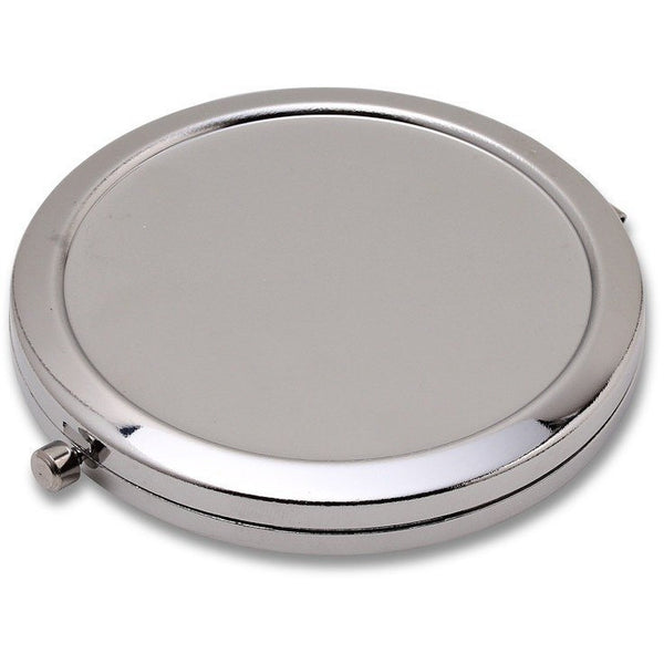 Wholesale Lot of 60 Blank Metal pact Cosmetic Mirror Cases