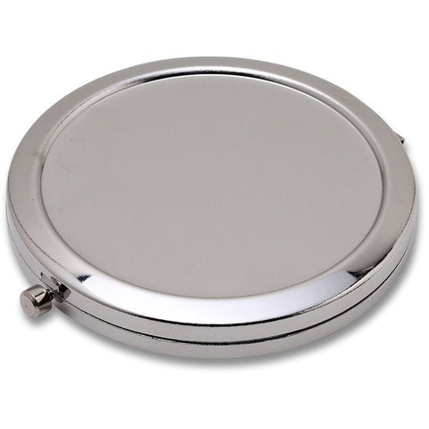 Wholesale Lot of 60 Blank Metal Compact Cosmetic Mirror Cases
