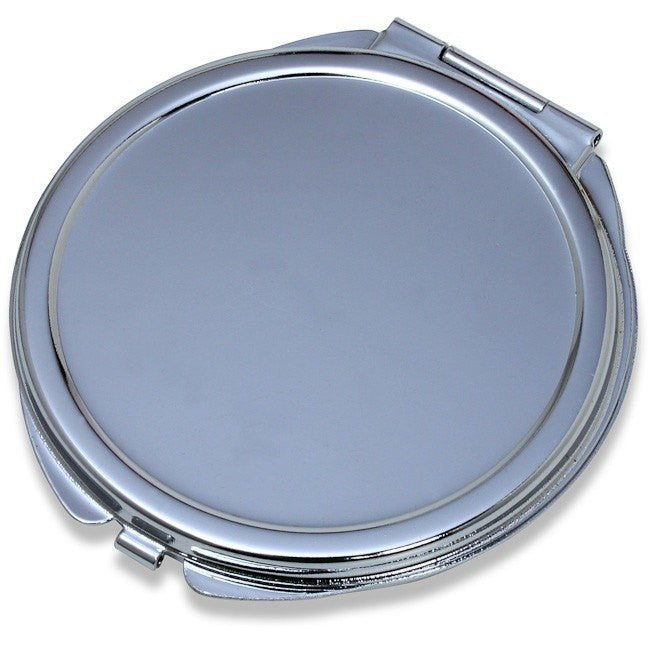 Wholesale Lot of 25 Blank Metal Compact Cosmetic Mirror Cases Small DIY