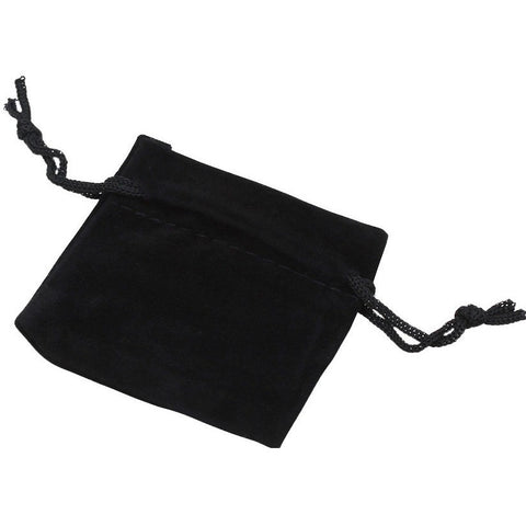 Wholesale Velvet Bags Pouches Black