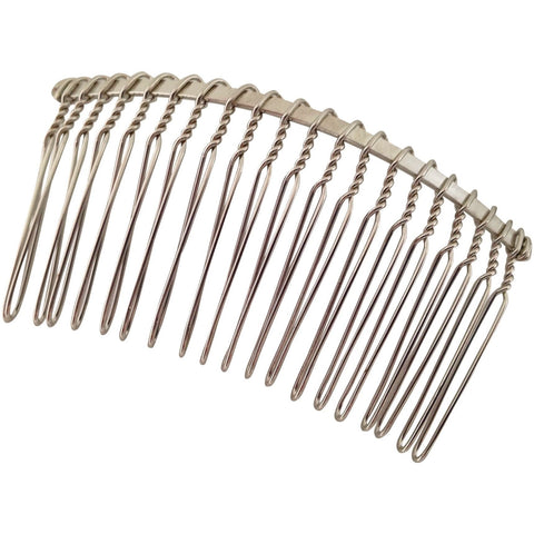 Wholesale Lot of 200 Blank Metal Hair Combs DIY