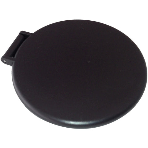 Wholesale Blank Thin Plastic Compact Mirror Black