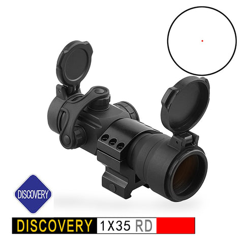 Discovery CRD 1X35 RD red dot sight scope Tactical Hunting collimator sight riflescope For Airsoft Rifles - DISCOVERY OPTICS Official Store