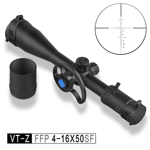 Discovery VT-Z 4-16X50 SF FFP First Focal plane kolimator holographic sight suit hunting and shoot most cost-effective rifle scope
