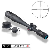 DISCOVERY Optics Riflescope VT-1 PRO 6-24X42 AOAI Hunting Tactical Long Range Airgun Air Rifle Scope - DISCOVERY OPTICS Official Store