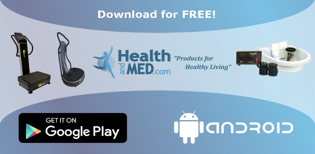 Ionic Foot Detox Session Timer Now Included in HEALTHandMED App for Android