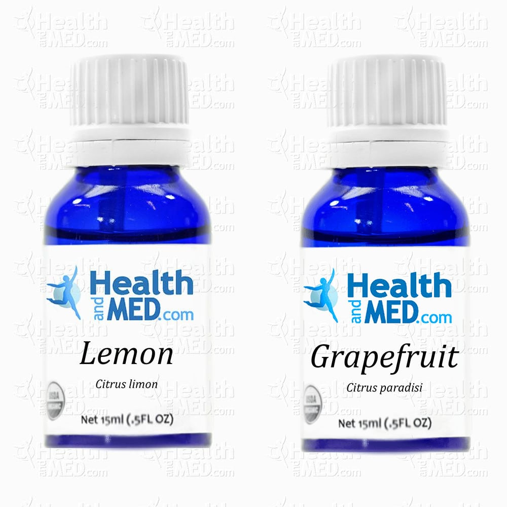 Essential Oil Health Benefits  Lemon and Grapefruit